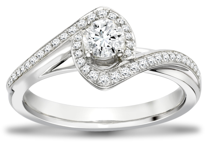 Sarah Ho Ring for Portfolio of Fine Diamonds at Phillip Stoner