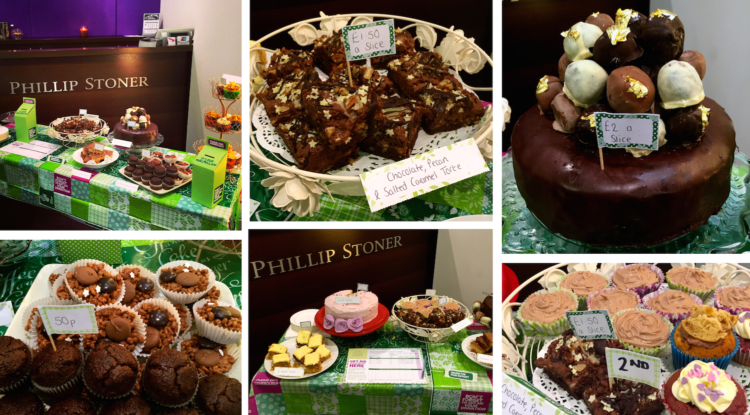 Macmillan Coffee Morning at Phillip Stoner