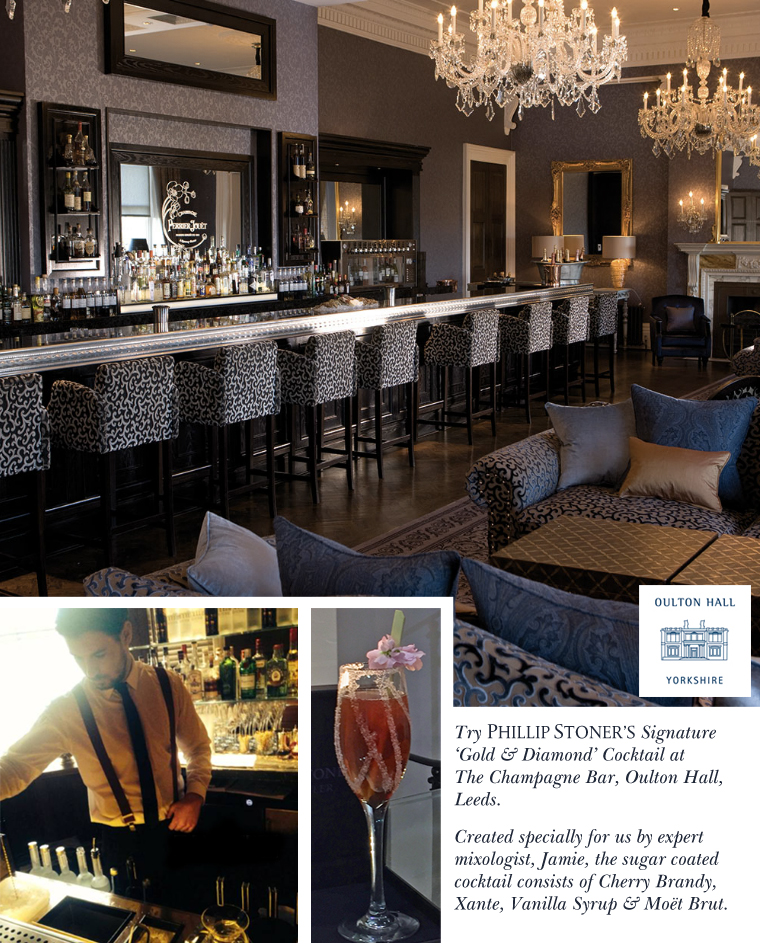 The Champagne Bar at Oulton Hall, Leeds