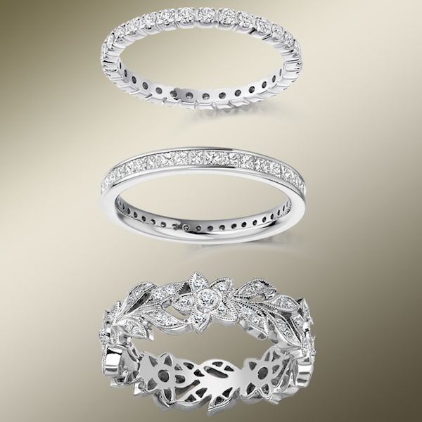 Find a Diamond Eternity Ring at Phillip Stoner The Jeweller