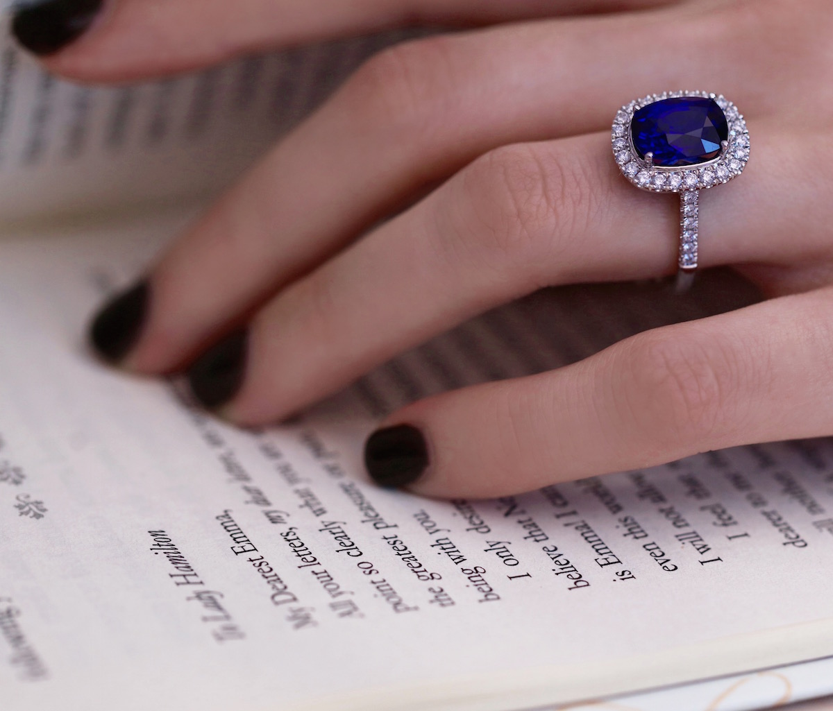 Sapphire & Diamond Rings at Phillip Stoner The Jeweller, Leeds & Manchester
