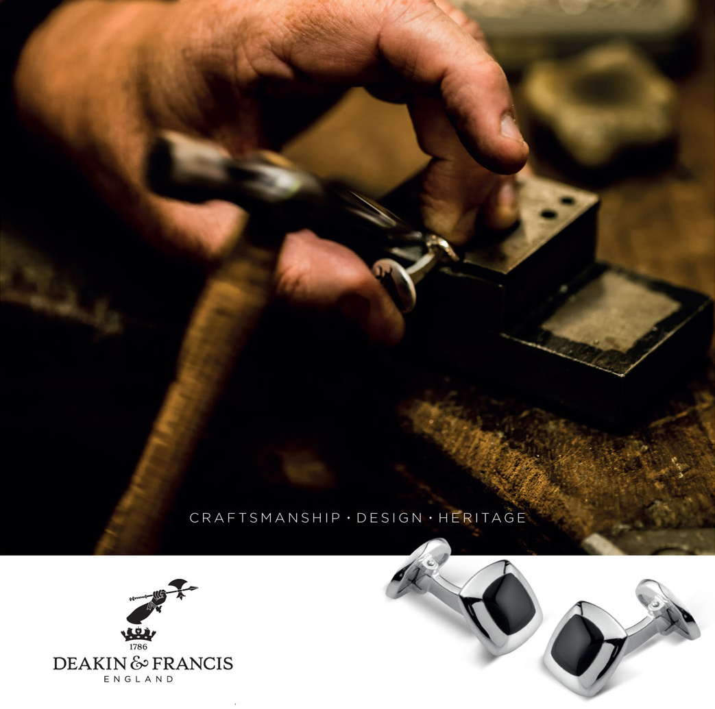 Deakin & Francis Cufflinks. Father's Day Gifts at Phillip Stoner The Jeweller