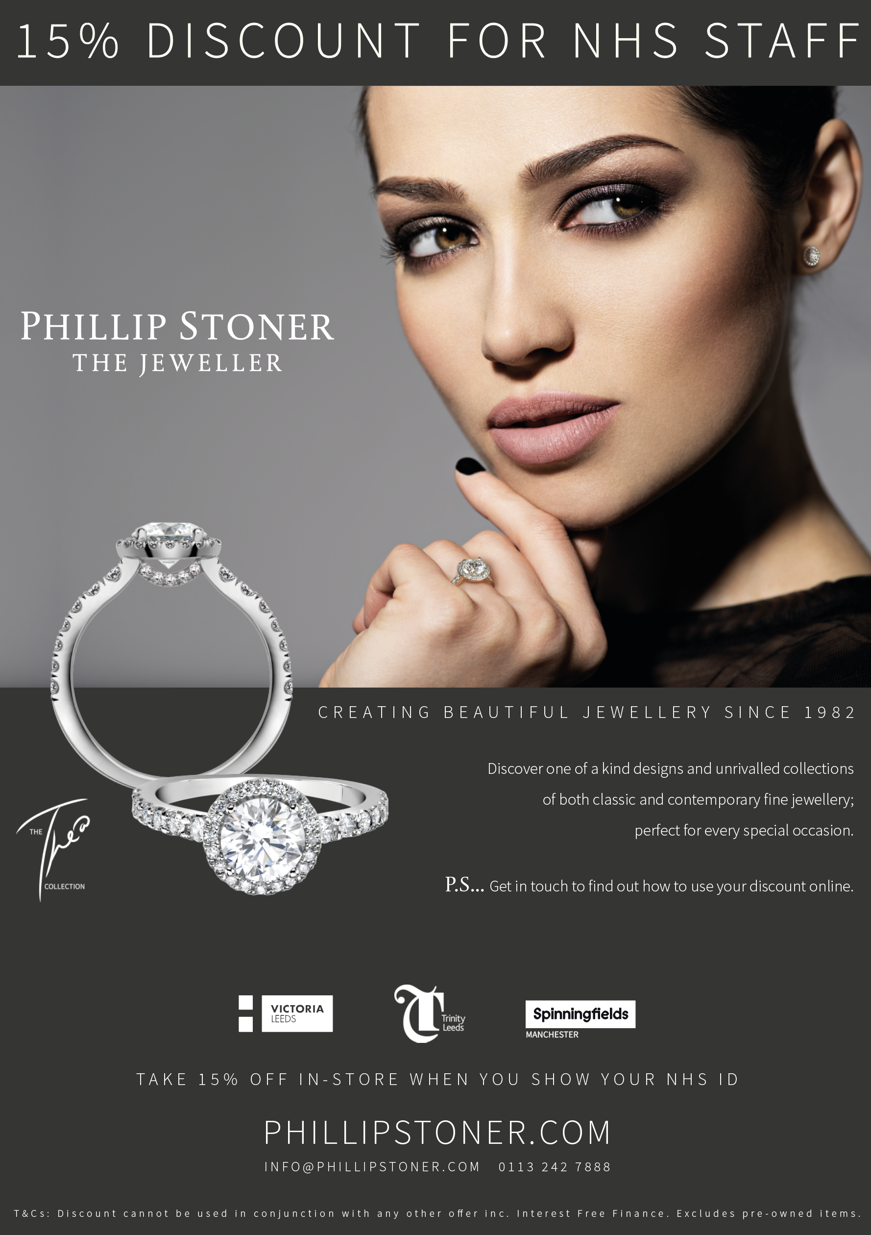 15% Off Jewellery - NHS Discount