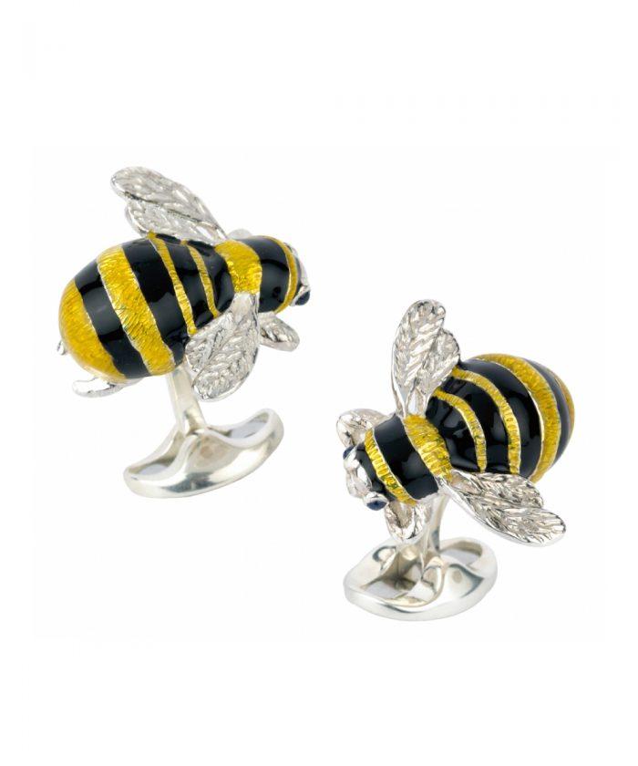 Deakin & Francis Bumble Bee Cufflinks