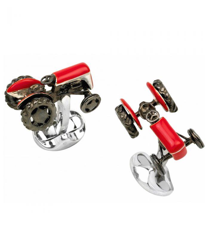 Deakin & Francis Red Tractor Cufflinks
