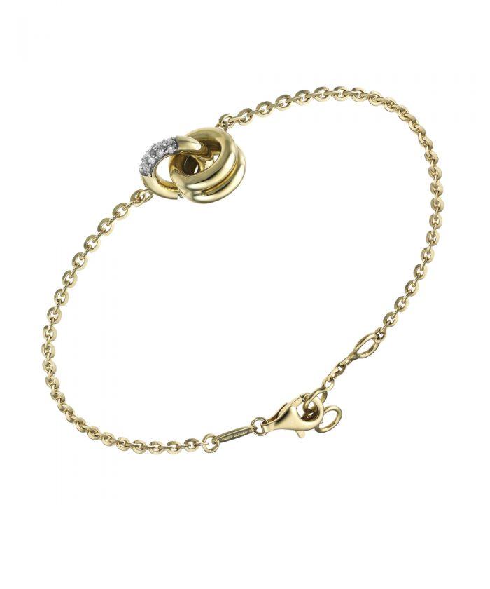 Chimento Pure Gold & Diamond Bracelet