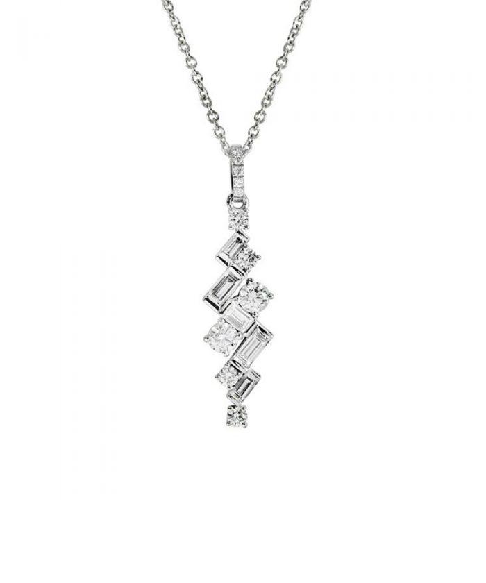 Art Deco Diamond Jazz Pendant