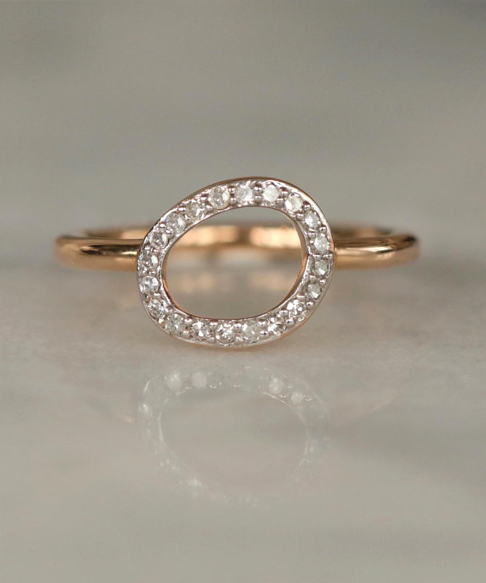 Rachel Galley Versa Rose Gold Ring