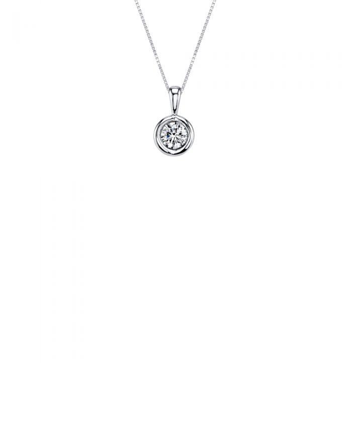 Sirena Diamond Drop Pendant