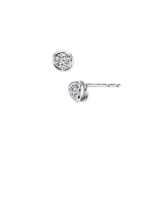 Sirena Diamond Stud Earrings