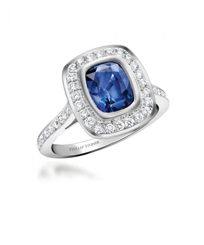 Ungar & Ungar Sapphire & Diamond Legacy Cocktail Ring