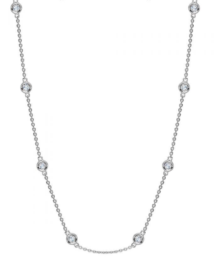 Extra Long Diamond Necklace