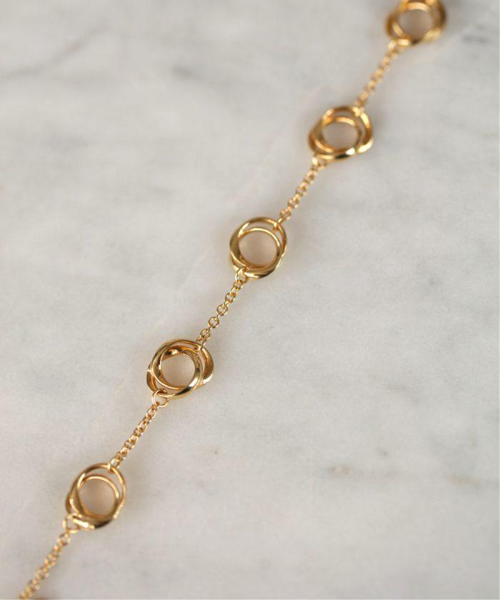 18ct Gold Loop Chain Bracelet