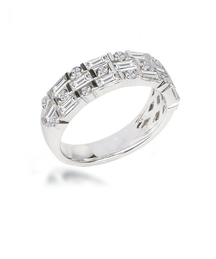 Art Deco Inspired Diamond Cocktail Ring