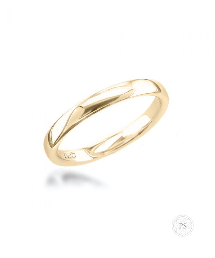 3mm 18ct Yellow Gold Wedding Band
